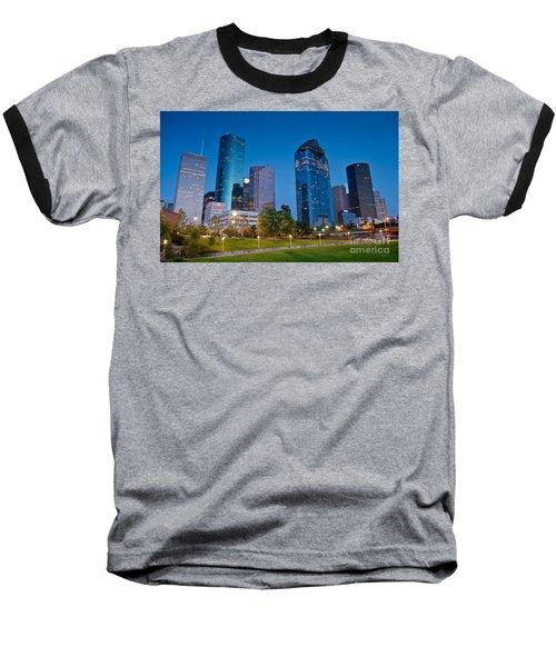 Downtown Houston Baseball T-Shirt