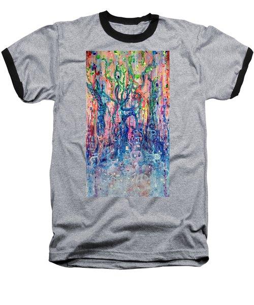 Dream Of Our Souls Awake Baseball T-Shirt by Regina Valluzzi