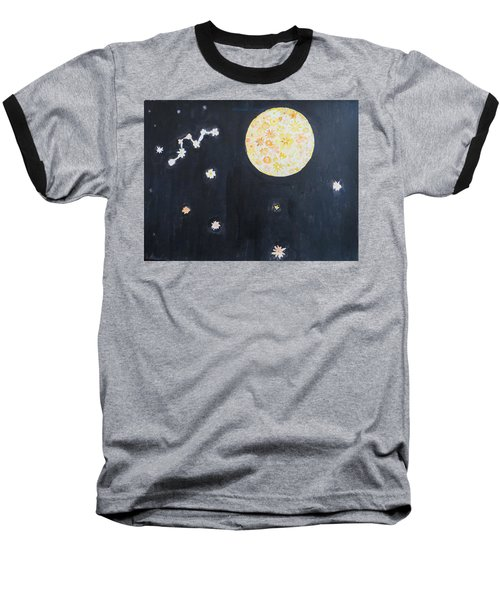 Baseball T-Shirt featuring the painting Dream by Sonali Gangane
