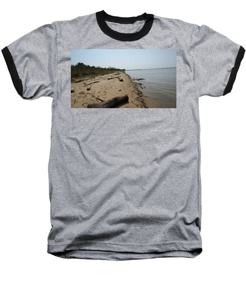 Baseball T-Shirt featuring the photograph Driftwood by Charles Kraus