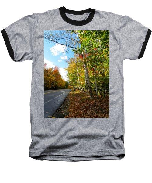 Driving Though The Birches Baseball T-Shirt