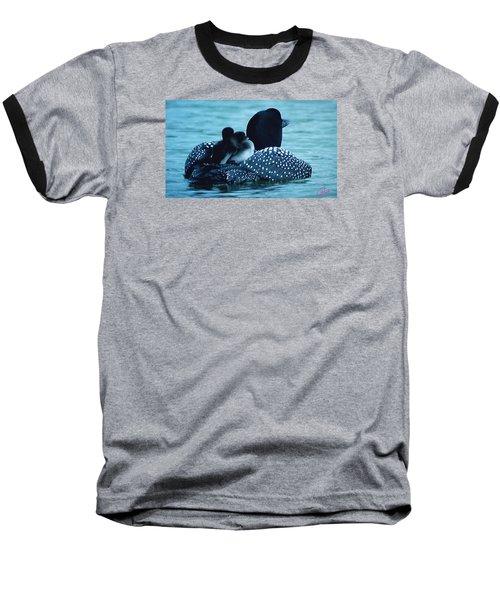 Duck Family Joy In The Lake  Baseball T-Shirt