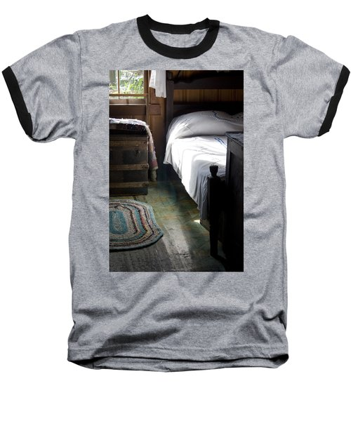 Baseball T-Shirt featuring the photograph Dudley Farmhouse Interior No. 1 by Lynn Palmer