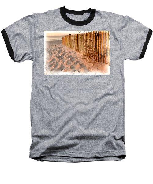 Dune Fence Baseball T-Shirt