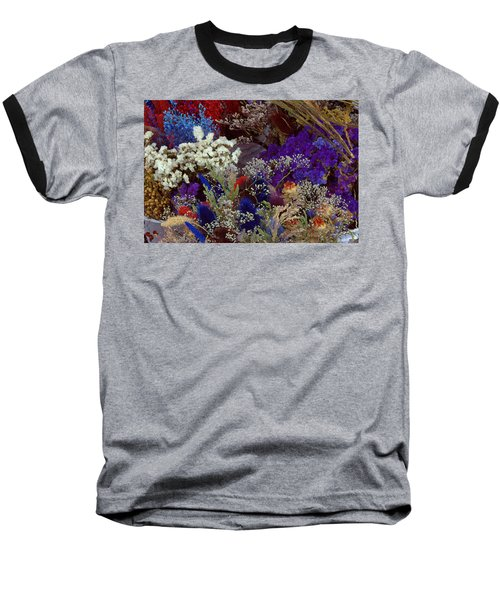 Baseball T-Shirt featuring the mixed media Early In The Cycle by Terence Morrissey