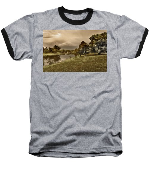 Baseball T-Shirt featuring the photograph Eery Day by Brian Duram