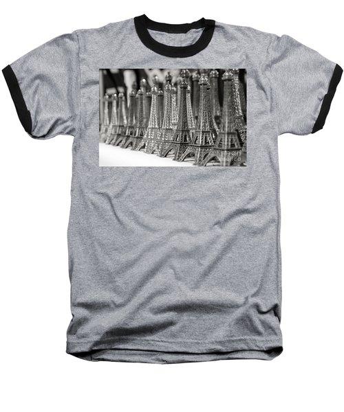 Eiffel Tower Miniature Baseball T-Shirt