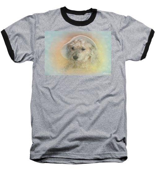 Emily's Bonnet Baseball T-Shirt by Diana Haronis