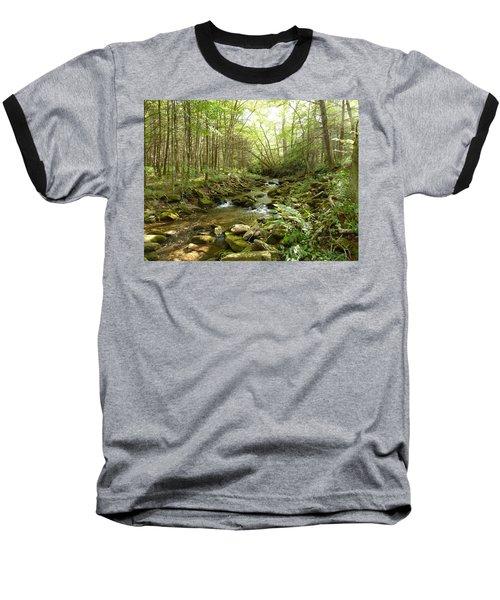 Enchanted Stream Baseball T-Shirt