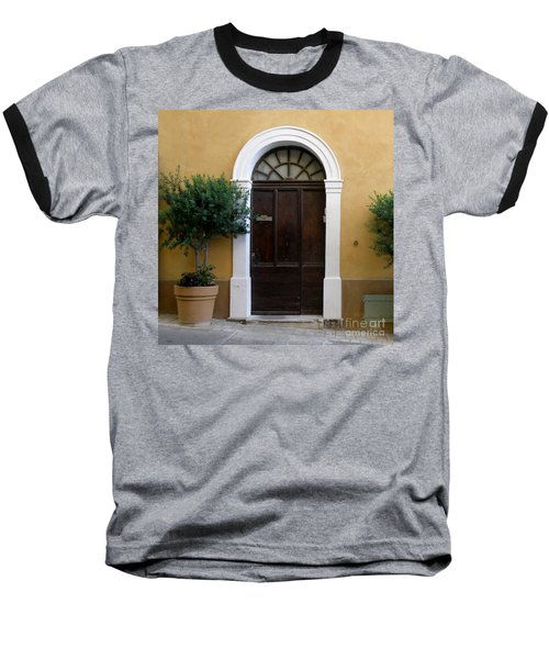 Baseball T-Shirt featuring the photograph Enchanting Door by Lainie Wrightson