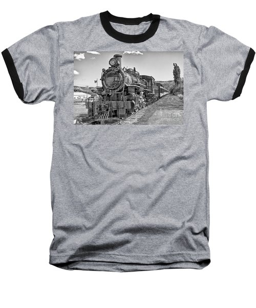 Baseball T-Shirt featuring the photograph Engine 593 by Eunice Gibb