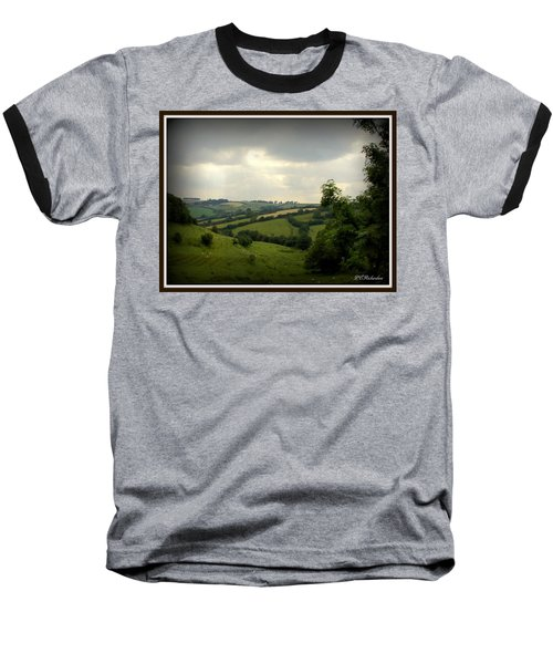 English Countryside Baseball T-Shirt