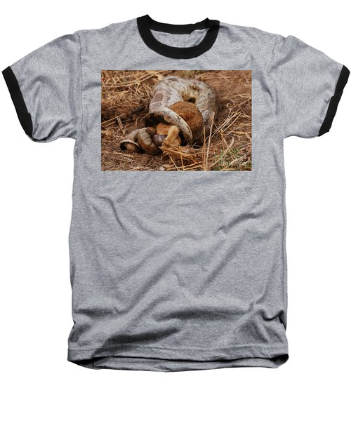 Baseball T-Shirt featuring the photograph Entrapped by Fotosas Photography