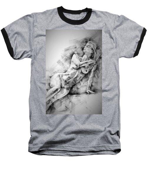 Erotic Sketchbook Page 2 Baseball T-Shirt