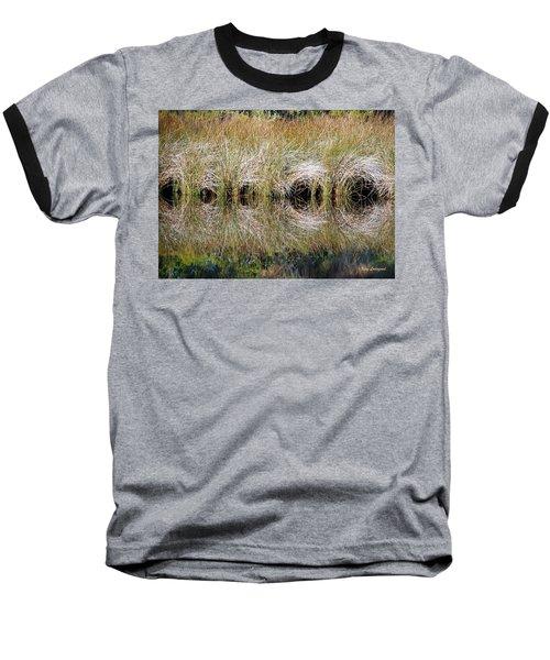 Escape Hatches Baseball T-Shirt by Kay Lovingood