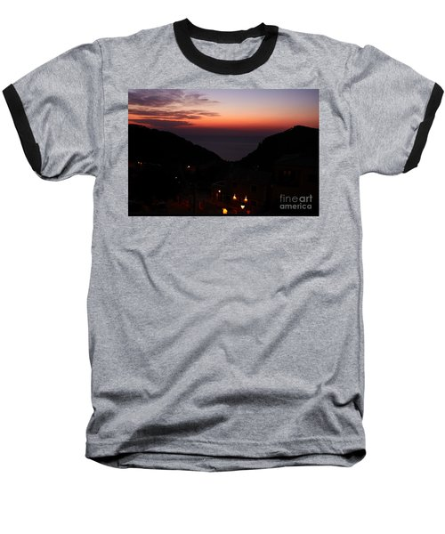 Estellencs View Baseball T-Shirt