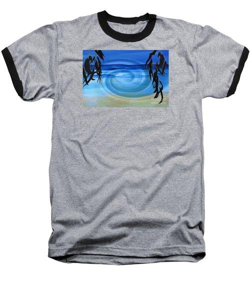 Eucalyptus Ocean View Baseball T-Shirt