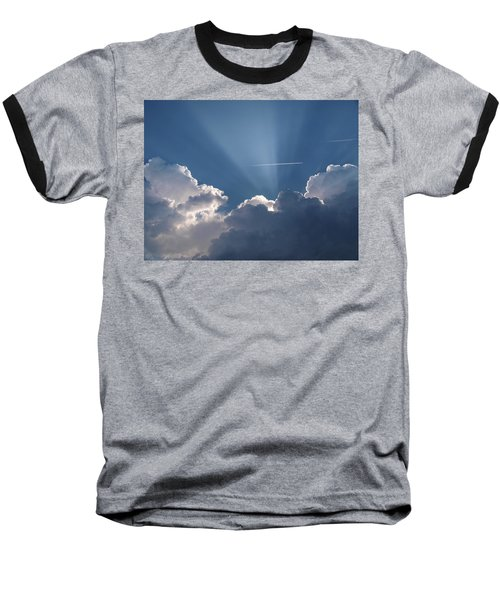 Even Through The Clouds You Will Find A Ray Of Sunshine Baseball T-Shirt