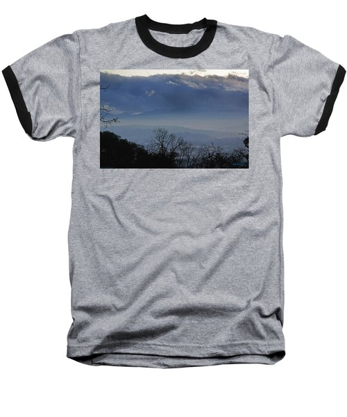 Evening At Grants Pass Baseball T-Shirt by Mick Anderson