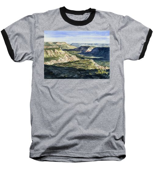 Evening Flight Over Palo Duro Canyon Baseball T-Shirt