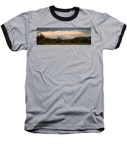 Baseball T-Shirt featuring the photograph Evening In Tucson by Kume Bryant