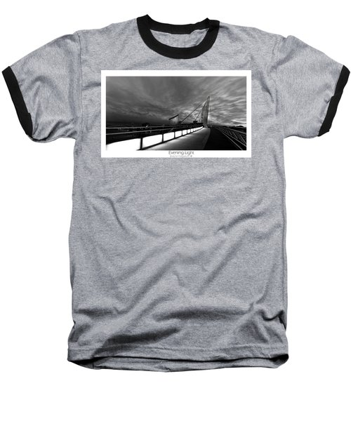 Baseball T-Shirt featuring the photograph Evening Light by Beverly Cash