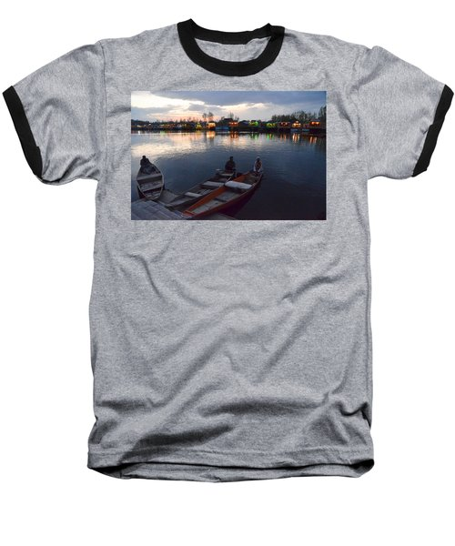 Evening On Dal Lake Baseball T-Shirt