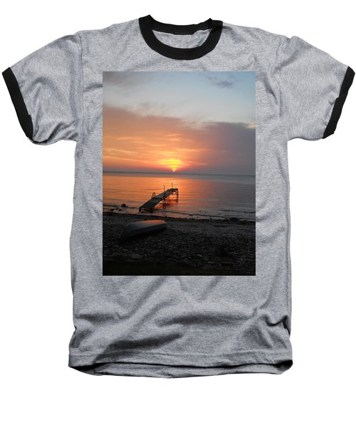 Evening Rest Baseball T-Shirt