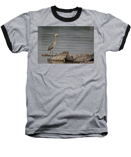 Baseball T-Shirt featuring the photograph Ever Alert by Eunice Gibb