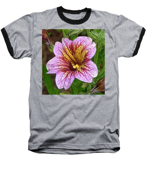 Baseball T-Shirt featuring the photograph Exploding Beauty by Wendy McKennon
