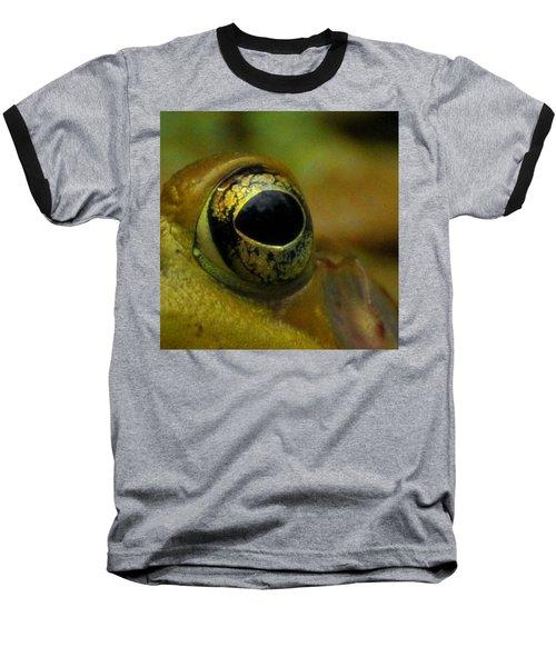 Eye Of Frog Baseball T-Shirt