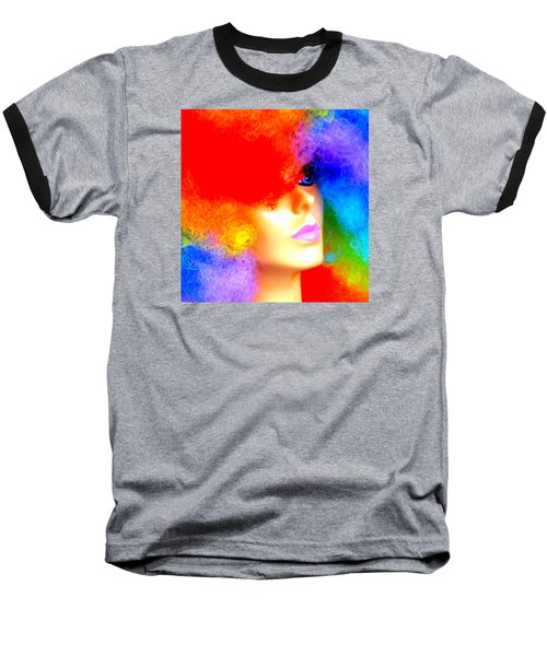 Baseball T-Shirt featuring the photograph Eye Of The Rainbow by John King