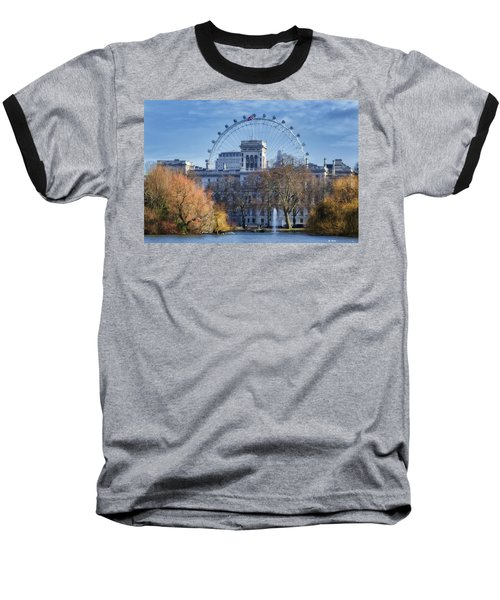 Eyeing The View Baseball T-Shirt