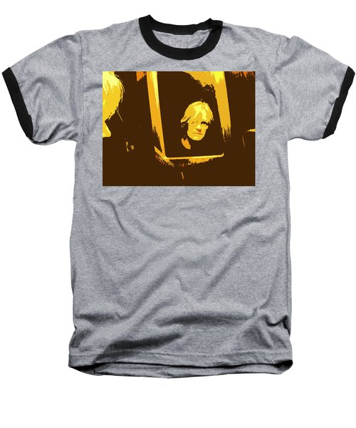 Face In The Mirror Baseball T-Shirt