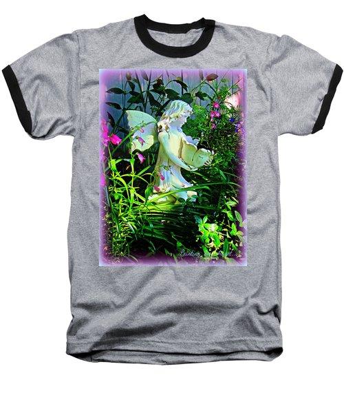 Fairy Girl Baseball T-Shirt