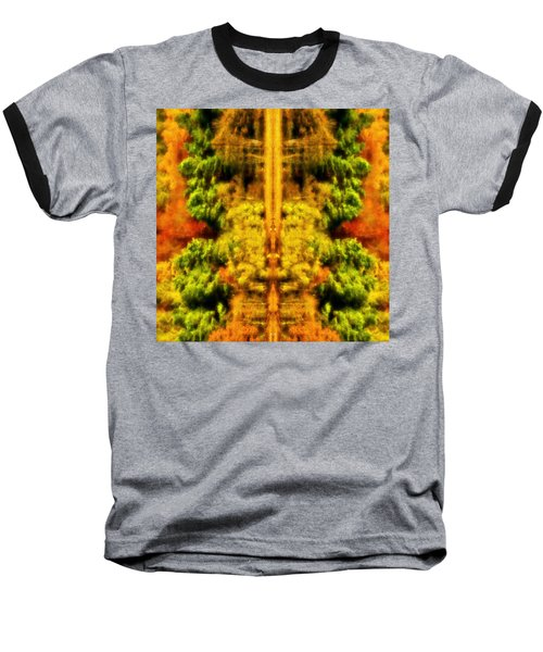 Baseball T-Shirt featuring the photograph Fall Abstract by Meirion Matthias