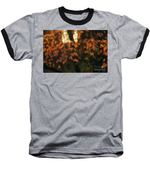 Baseball T-Shirt featuring the photograph Fall Colours by Art Whitton