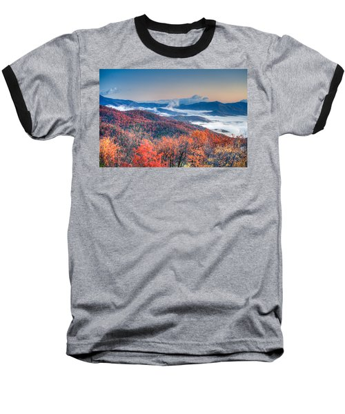 Fall Fog 1 Baseball T-Shirt
