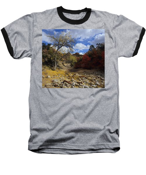 Fall In Zion High Country Baseball T-Shirt