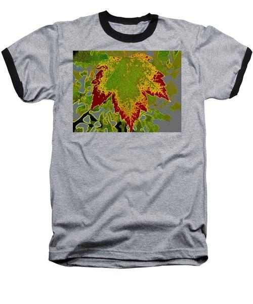 Falling Baseball T-Shirt by Kathy Bassett