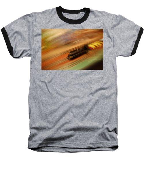 Fast Train Set Baseball T-Shirt