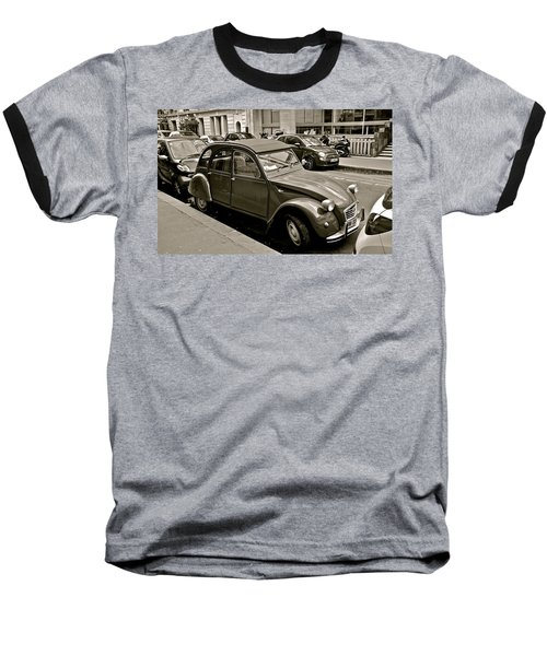 Baseball T-Shirt featuring the photograph Favored Car by Eric Tressler