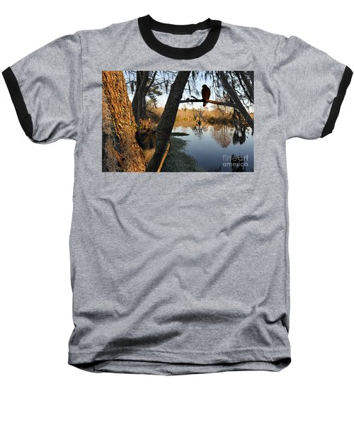 Baseball T-Shirt featuring the photograph Feel Like Being Watched by Dan Friend