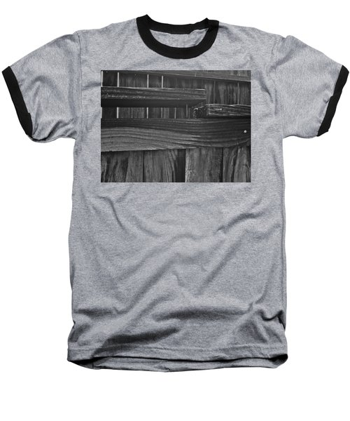 Baseball T-Shirt featuring the photograph Fence To Nowhere by Bill Owen