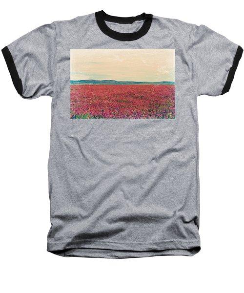 Fields Of Heaven Baseball T-Shirt by Leanna Lomanski