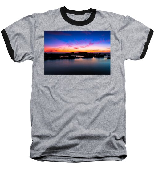 Figures To Sunset Baseball T-Shirt