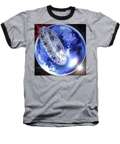 Baseball T-Shirt featuring the digital art Final Approach by Greg Moores