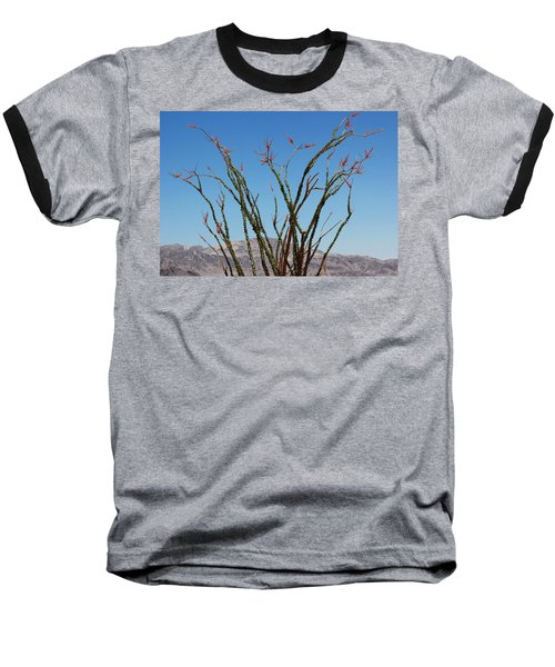 Fingers To The Sky Baseball T-Shirt