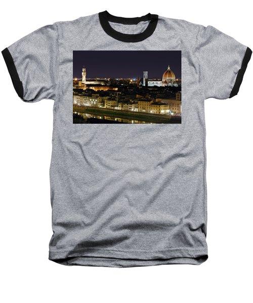 Firenze Skyline Baseball T-Shirt