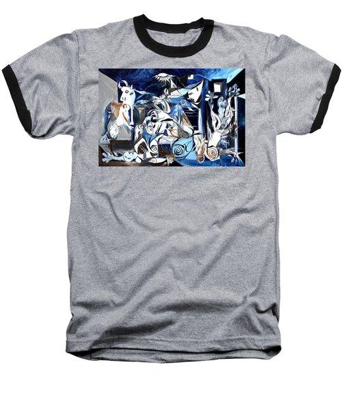 Fish Guernica Baseball T-Shirt